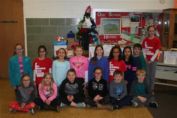 KINDness Holiday Collection for CASD Food Pantry