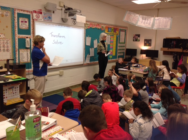 Rotary Club's Third Grade Dictionary Day
