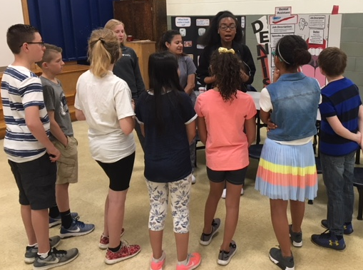 CMS Students Present Career Opportunities to FS Fifth Graders