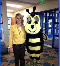Mrs. Stine & Buzzy Bee