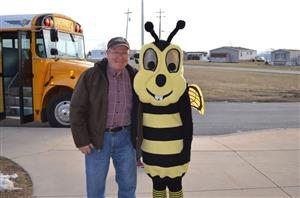 Buzzy and Mr. Mummert