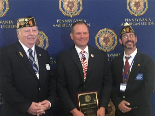 CASHS Teacher Named 2019 PA Educator of the Year by the PA American Legion